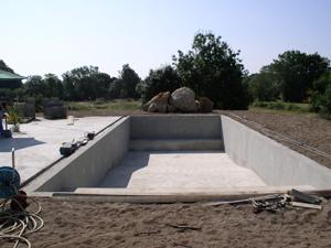 Construction piscine | Vermeulen maçonnerie