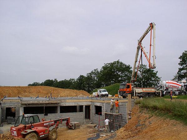 Construction neuve | Vermeulen maçonnerie